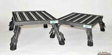Adjustable Folding Leg Handicap Platform Camper Van Aluminum Safety Step A-09C-G