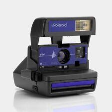 Polaroid 600 636 Blue Instant Film Camera