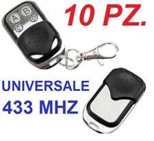 10 Telecomando Universale clone copia. Cancello automatico,cancelli,433Mhz 433