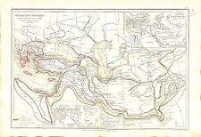 Monarchy Adel Kaiserreich Cyrus Darius Alexander The Great Karte Atlas 1874