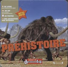 Coffret / livre/ jeux enfant - neuf sous blister - La Préhistoire