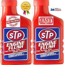 STP Engine Flush For Petrol Or Diesel Engines 450MLOil Flushing Clean AdditiveX2