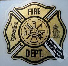 """Fire Dept., Firefighter, Florentine Decal,  3""""  #FD62"""