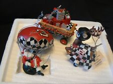 Dale Earnhardt Sr #3 Christmas Ornaments Hamilton Collection includes COA Wagon