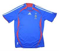 France 2006-07 Authentic Home Shirt (Excellent) S Soccer Jersey