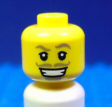 LEGO-MINIFIGURES SERIES 11[12] X 1 HEAD FOR THE SWASHBUCKLER  SERIES 12 PARTS