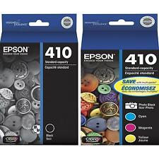 5-PACK Epson GENUINE 410 Black & Color Ink (NO RETAIL BOX) EXPRESSION XP-830