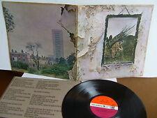 Led Zeppelin - IV ZOSO 2401 012  UK LP  1971 Atlantic  Red/Plum label