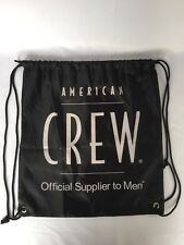 """American Crew Mens PULL ME TIGHT BACK PACK Tote 18""""x16"""""""