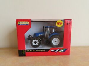 Britains New Holland T6.275 Tractor Diecast Model (Sealed) Farming 1:32 Scale
