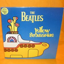 "EMI APPLE RECORDS THE BEATLES YELLOW SUBMARINE SONGTRACK 12"" LP YELLOW VINYL"