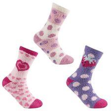 3 Paar Damen kuschelig Hausschuhsocken, flauschig weich warm Socken,
