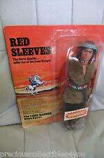 MIB MOC MOSC RED SLEVES FIGURINE MARX Lone Ranger GABRIEL 1973 # 7404/1 NRFB