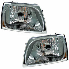 Pair of Headlights Toyota Hilux 10/01-03/05 New Front SR5 Lamps 01 02 03 04 Ute