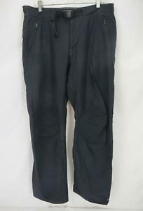 Columbia Titanium Omni-Wick Hiking Outdoor Cargo Pants Black Men's Large