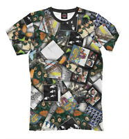 The Beatles discography t-shirt -  all over printed tee all