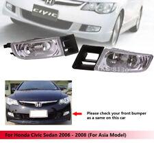 Spot Fog Light Lamp Kit For Honda Civic Sedan 2006 2007 2008 (Asia Model)