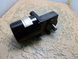 Oriental Motor 5IK40GK-AA induction motor w/ right angle gearhead 115V [2*N-15]