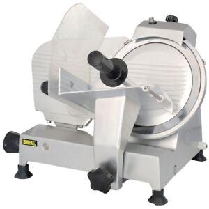 Fleischschneidemaschine 25cm Messer Auschnittmaschine ACD278