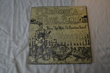 Harmonica Frank Floyd Blues That Made The Roosters Dance LP 1975 Barrelhouse