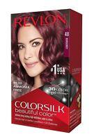 Revlon ColorSilk Beautiful Color, 48 Burgundy
