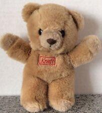 "Kraft Peanut Butter The Peanuttiest Taste! Plush 8"" Teddy Bear Advertising Promo"