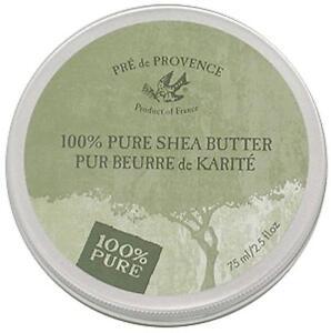 PRE de PROVENCE, 100% Pure Shea Butter SKIN TREATMENT 2.5 fl.oz. - 75ml Tin
