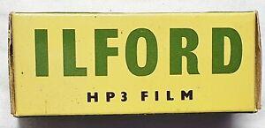 Vintage ILFORD HP3 120 film sealed 1963 in  original packaging