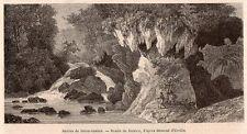 IMAGE 1872 PRINT INDONESIE INDONESIA AMBOINE AMBON RAVINS DE BATOU GANTON