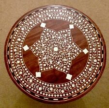 Beautiful Handmade Indian Inlaid Table