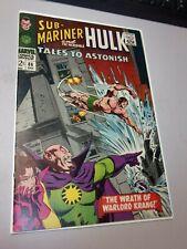 Tales To Astonish #86 VF+ The Hulk Sub-Mariner John Buscema Art 1966