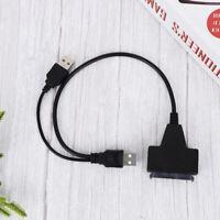 1 PC USB 3.0 zu SATA III Adapter 22 Pin Festplattenadapter für 2,5 Zoll HDD /