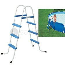 More details for 3 step pool ladder above ground swimming pools safe rung ladder 33.5