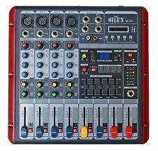 PA MISCHPULT LIVE- MIXER  4 KANAL DJ STUDIOMISCHPULT HALL ECHO USB B-WARE