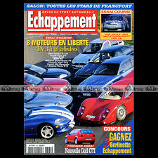 ECHAPPEMENT N°362 MASERATI QUATTROPORTE V8 CIVIC VTi JAGUAR XJS VOLVO S40 1997