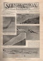 1909 Scientific American Supp August 14-Workman Himalaya; French Snail Gardens