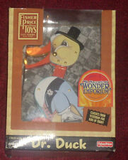 NEW QUACKS! Dr. Duck Fisher-Price Wood Pull Vintage Reproduction 2005 LAST ONE!
