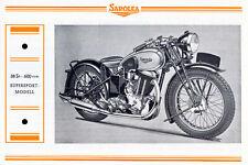 Sarolea -  Motorrad-Programm - Prospekt   - 1938  - Deutsch  - nl-Versandhandel