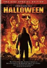 Halloween DVD Rob Zombie's 2007 Malcolm McDowell 2 Disc Special Ed