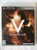 PS3 Armored Core V Playstation 3 Japan import USED