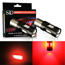 2Pcs Red 1156 BA15S P21W 21SMD LED Tail Bulbs Fog Lamp Car Brake Stop Rear Light