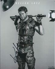 Kellan LUTZ SIGNED Autograph 10x8 Photo AFTAL American Actor Expendables RARE