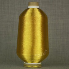FINE GOLD METALLIC GLITTER LUMIYARN 250g CONE KNITTING EMBROIDERY SPARKLE LUREX