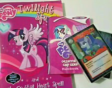 Friendship Is Magic My Little Pony MLP Card Game Twilight Sparkle Book Rock Rave
