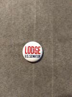 Rare Vintage George Cabot Lodge for U.S. Senate 1962 Campaign Button Pin