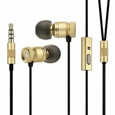 Nightingale Deep Bass Metallic Earphone with Genuine Leather Carrying Case