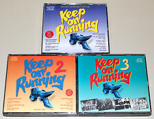 KEEP ON RUNNING SOUNDTRACK 1 2 3 - KOMPLETT & RAR - BYRDS KINKS DONOVAN BEE GEES