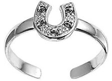 .925 Sterling Silver Toe Ring - Horse Shoe  horseshoe