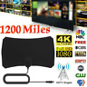 1200Miles Indoor HD Digital TV Antenna Aerial Signal Amplified 1080P 4K Freeview