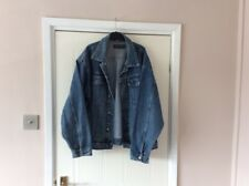 blakes jeans mens denim jacket Large